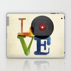 Love is Music Laptop & iPad Skin