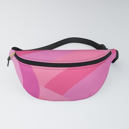 Abstract Geometric 3 Pink Fanny Pack