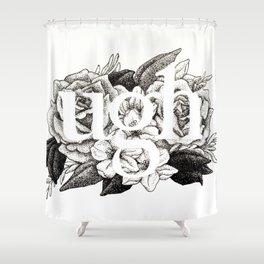 Ugh Floral Shower Curtain