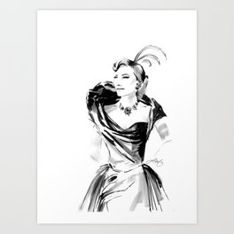 Lady Tremaine Art Print