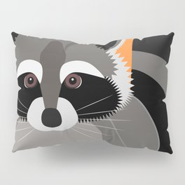 Raccoon Mischief Pillow Sham