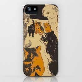 Pussy-cat town - Marion Ames Taggart and Rebecca Chase - 1906 iPhone Case
