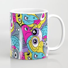 Idiot Bird Pattern Mug