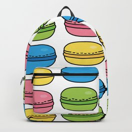 Colorful Macaroons Backpack