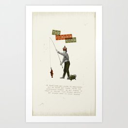 The fisher king Art Print