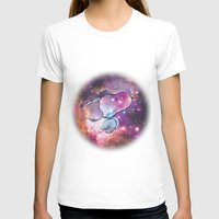 snoopy T-shirts featuring Space Snoopy by Yildiray Atas