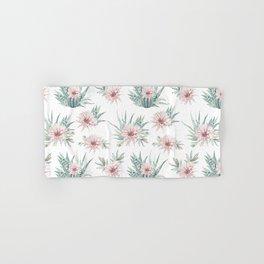 Cactus Rose Succulent Garden Hand & Bath Towel