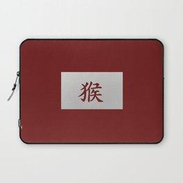 Chinese zodiac sign Monkey red Laptop Sleeve