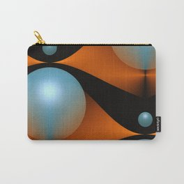 3D abstraction -16- Carry-All Pouch