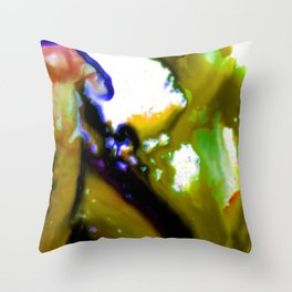 Abstract Bliss 3C by Kathy Morton Stanion Throw Pillow