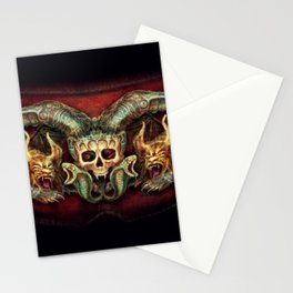 Skull And Beasts Stationery Cards