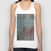 army Tank Tops featuring Robot army by Ale Ibanez