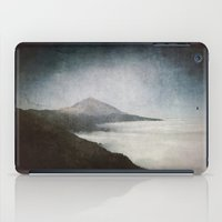geology iPad Cases featuring Mount Teide and dust by UtArt
