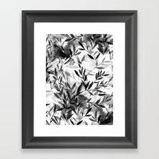 Changes BW Framed Art Print