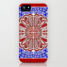 RWB Bandanna iPhone Case