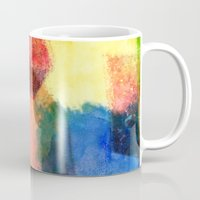 water color Mugs featuring water color by Pao Designs