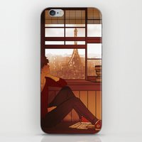 enjolras iPhone & iPod Skins featuring Enjolras by rdjpwns