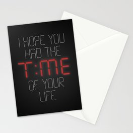 I hope you had the time of your life - Greenday Stationery Cards