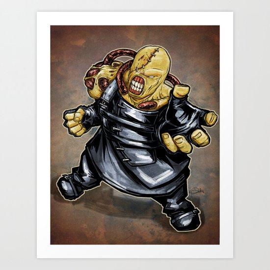 Nemesis: Resident Evil Art Print