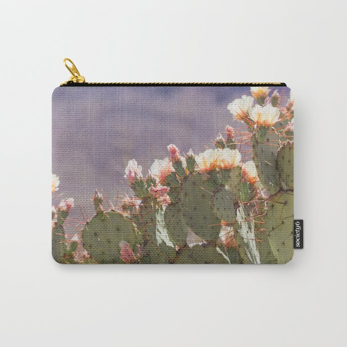 Prickly Pear Blooms I Carry-All Pouch