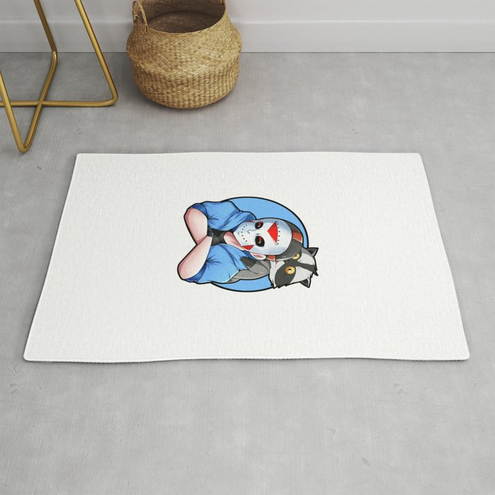 H2o Delirious and Batcoon Rug by mihi24