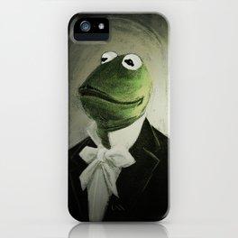 Sir Kermit iPhone Case