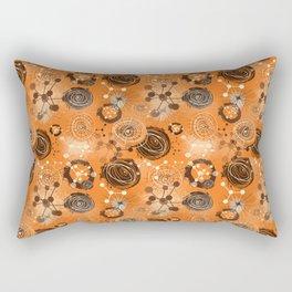 molecules Rectangular Pillow