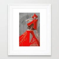 artgerm Framed Art Prints featuring Pepper Fashion by Artgerm™