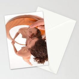 5399-KD In Love With Myself, Naked Reflection of Beauty Stationery Cards