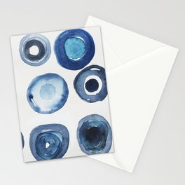 Abstract IV: deep dip Stationery Cards