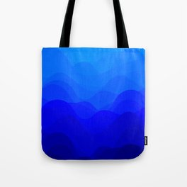 Blue Waves Tote Bag
