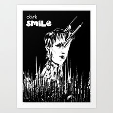 Dark Smile Art Print