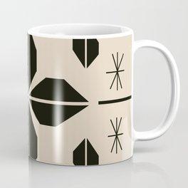 Midcentury Abstract Flowers Coffee Mug