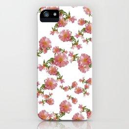 Pretty Vintage Florals iPhone Case