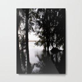 Mirror//rorriM Metal Print