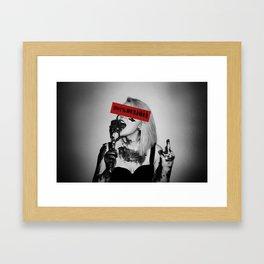 F#!% Bulimia  Framed Art Print