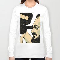 stanley kubrick Long Sleeve T-shirts featuring kubrick by Le Butthead