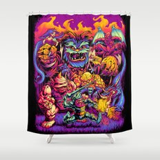 GHOSTS 'N' GOBLINS Shower Curtain
