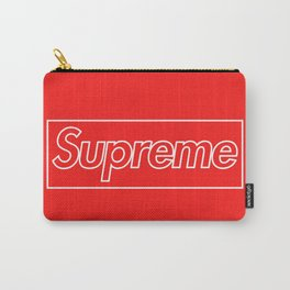 Supreme Outline Red Carry-All Pouch