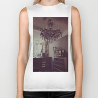 antique Biker Tanks featuring Antique by Jane Lacey Smith