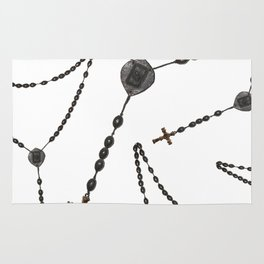 Wooden Rosary I Rug