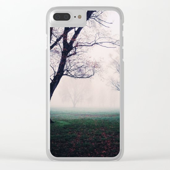 Mystical forest Clear iPhone Case