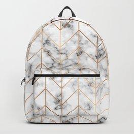 Marble Geometry 057 Backpack