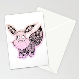 Eevee Stationery Cards