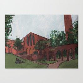 Oscar's Campus 7 Canvas Print
