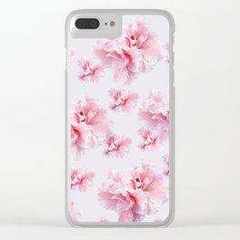 Pink Azalea Flower Dream #1 #floral #pattern #decor #art #society6 Clear iPhone Case