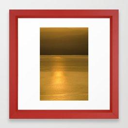 golden brown3 Framed Art Print