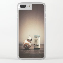 BB-Peat Clear iPhone Case