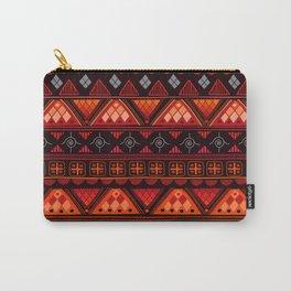 Boho Geometric Pattern Var. 6 Carry-All Pouch