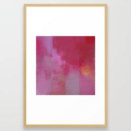 Deconstructed Sunrise Framed Art Print